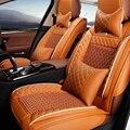 Asiento de coche de cuero cubierta para suzuki swift sx4 alto jimny grand vitara 2016 kizashi wagon paleta accesorios styling negro