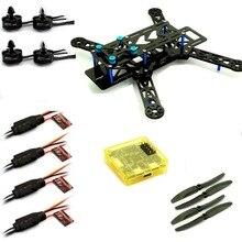 Emax Quadcopter 250 Frame + MT2204 Motor & 12A ESC & Carbon Prop & CC3D BLUE