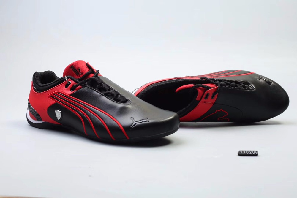 Original Puma Future Cat M2 SF Breathable Mens Leather Sneakers Shoes Red/White/Black Badminton Shoes Size40-45