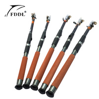 2017 new Super Light Carbon Portable Telescopic Pole Saltwater Casting Spinning Fish Pole Hand Sea Fish Tackle new arrival