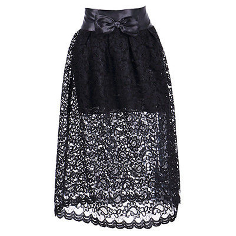 Black Skater Skirt with Bow Promotion-Shop for Promotional Black ...