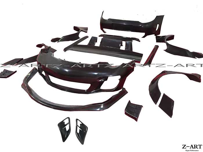 Z-ART Body kit for Porsche 911 LB body kit for 997 Tuning body kit for Porsche 911 Turbo Turbo S 2008-2012