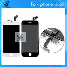 Hot Sale AAA 100% Brand New Top Quality For iPhone 6 LCD Display Touch Screen With Digitizer Assembly black &white Freeshipp