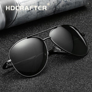 HDCRAFTER retro vintage men polarized driving sunglasses
