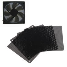 5Pc Computer Mesh PVC Case Fan Dust Filter Dustproof Cover Chassis Dust Cover hyq