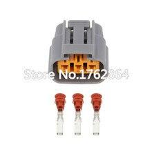5 sets Automotive connector waterproof plug DJ70315-2.2-21 sensor  3pin wire harness jacket Hu