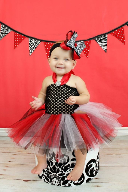 c7e571a08ff6 Colorful Baby Crochet Tutu Dress Girls 1Layer Tulle Diamond Strap ...