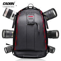 CADeN Professional Travel Waterproof Fashion Camera Backpack Photo tas Digital Camera Bag Case for Dslr Sony Canon Nikon K6K7