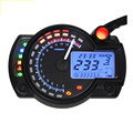 2016 Universal Adjustable Motorcycle Digital Speedometer LCD digital Odometer Backlight Dashboard Motorbike Gauges Tachometer