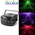 DMX led disco beam light 90-240V vlinder party lichten professionele beam stage verlichting vakantie kleurrijke laser projector