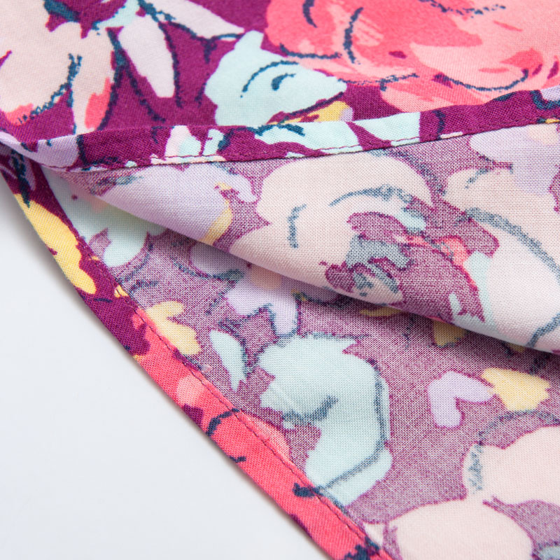 Baby κορίτσια φόρεμα 3-6Y Floral εκτύπωση - Παιδικά ενδύματα - Φωτογραφία 6