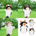Nueva Llegada Animal Marioneta de Mano Juguetes de Peluche Títeres de Pereza Buffalo Ox Ganado Muñeca Bebé de Juguete Brinquedo Marionetes Fantoche