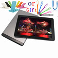 Ips android 4.1 tablet 1 gb + 8 gb 10 pulgadas joyplus qh quad core Cámara dual Pantalla Capacitiva 7000 mAh Wifi tablet pc con un regalo