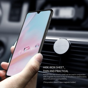 Image 4 - Huawei P30 Case Nillkin Synthetic Fiber Hard Back Cover Iron Magnetic Case for Huawei P30 Pro / P30 Lite