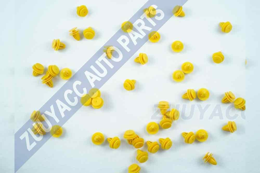 30 CHIẾC Xe Chất Lượng Cao Chỉ Màu Trang Trí Viền Nội Thất Thẻ Bảng Kẹp Cố Định Cửa Dây Khóa dành cho Xe Hyundai Kia