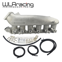 WLR RACING Cast Алюминий впускной коллектор для Nissan 240SX RB25det RB25 Skyline R32 R33 R34 1989 1998 WLR IM32SL