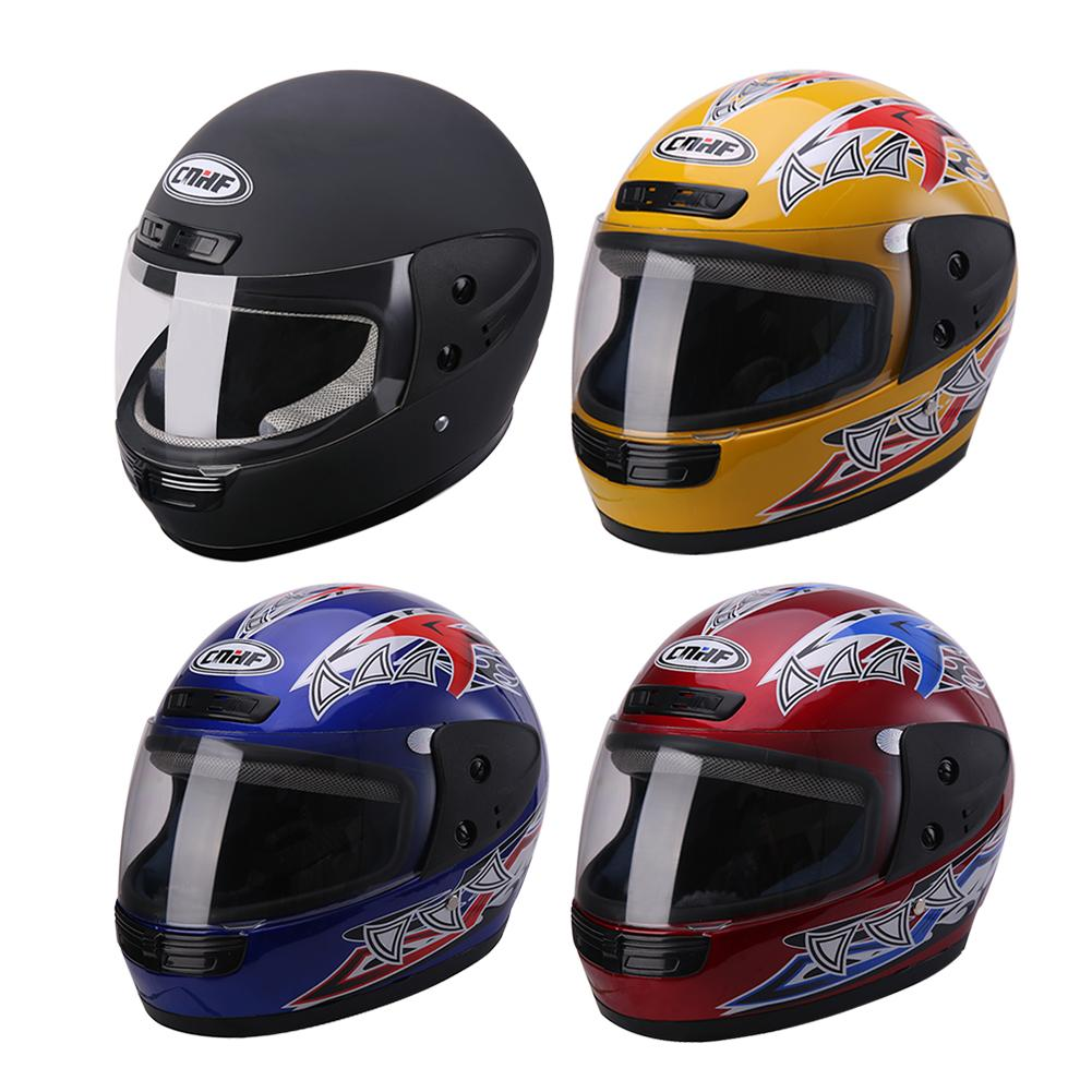 Universal Motorcycle Helmet Battery Car Warm Full Cover Collision Resistant ABS Plastic Safety The Lens Has An Anti-fog