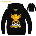 Kindstraum Kids Pokemon Go Hoodies Boys & Girls Hoodies Full Sleeve Sweatshirt Cartoon Children Clothing Hoody Moletom, MC303