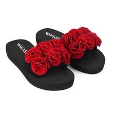 2018 Cong Huahou bottom sandals female new summer fashion leisure beach slippers slip a woman