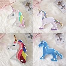 Cartoon animal unicorn night light LED battery baby bedroom lamp sleep with children bulb table gift