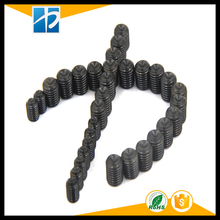 (50 pc/lot) M2,M2.5,M3,M4 *L=3,4,5,6,8,10 alloy steel Grade 12.9 DIN916 high tensile cup point set grub screw