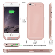 Ultra Thin Power Bank Case for Apple Iphone 6S Plus Iphone 6 Plus 4.7 5.5 External Charger Case Backup Battery Cover