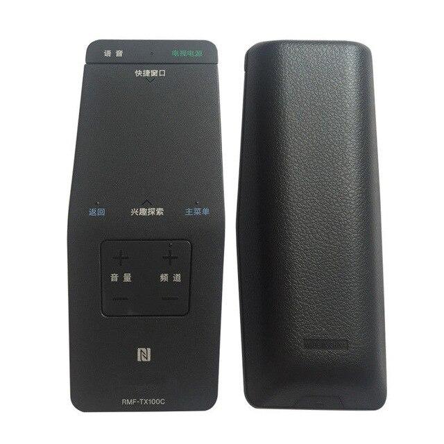 TV RMF TX100c original voice remote control for Sony RMF TX100 RMF TX100E KDL 55W805C KDL 55W755C KDL 50W805C 50W755C