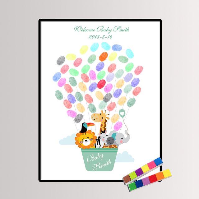 Personalisieren Baby Shower Geburtstag Familie Geschenk
