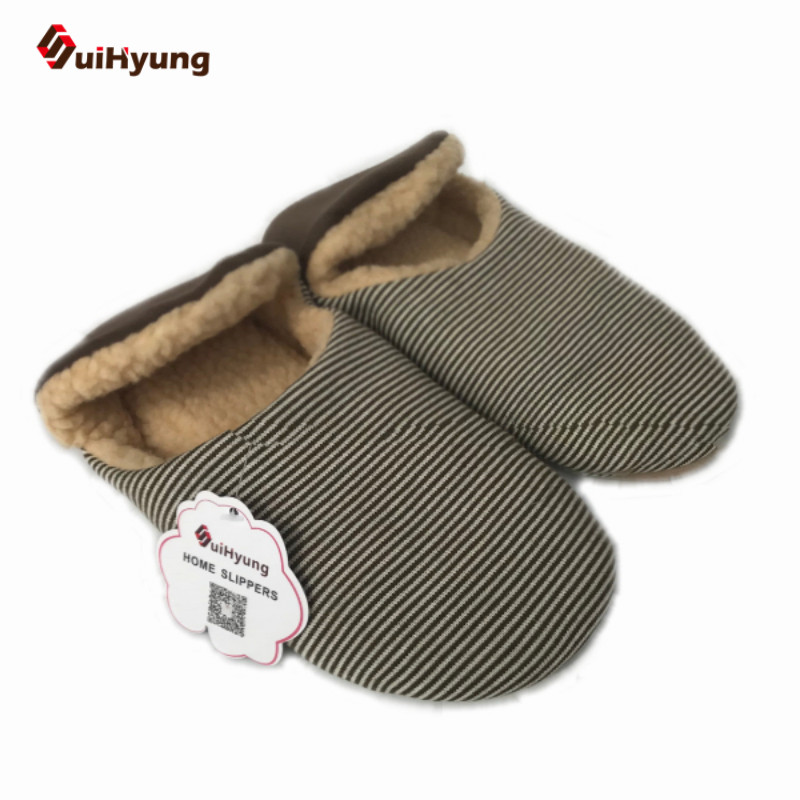 цена New Winter Warm Cotton-padded Shoes For Men Women. Home Soft Plush Slippers Coral Fleece Indoor Shoes Floor Socks Foot Warmer