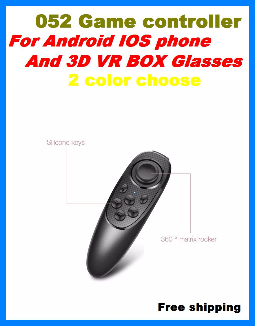 Wireless Bluetooth Gamepad Game Controller Joystick Selfie Remote Shutter For iPhone IOS Samsung Android TV Box