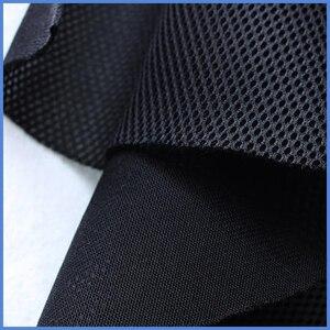 Image 2 - スピーカー雑巾グリルステレオフィルターファブリックメッシュオーディオスピーカーボックス防塵グリル服 # 黒1.4x0.5m