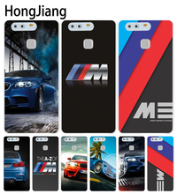 HongJiang luxury bmw M3 photo print Cover phone Case for huawei Ascend P7 P8 P9 P10 lite plus G8 G7 honor 5C 2017 mate 8