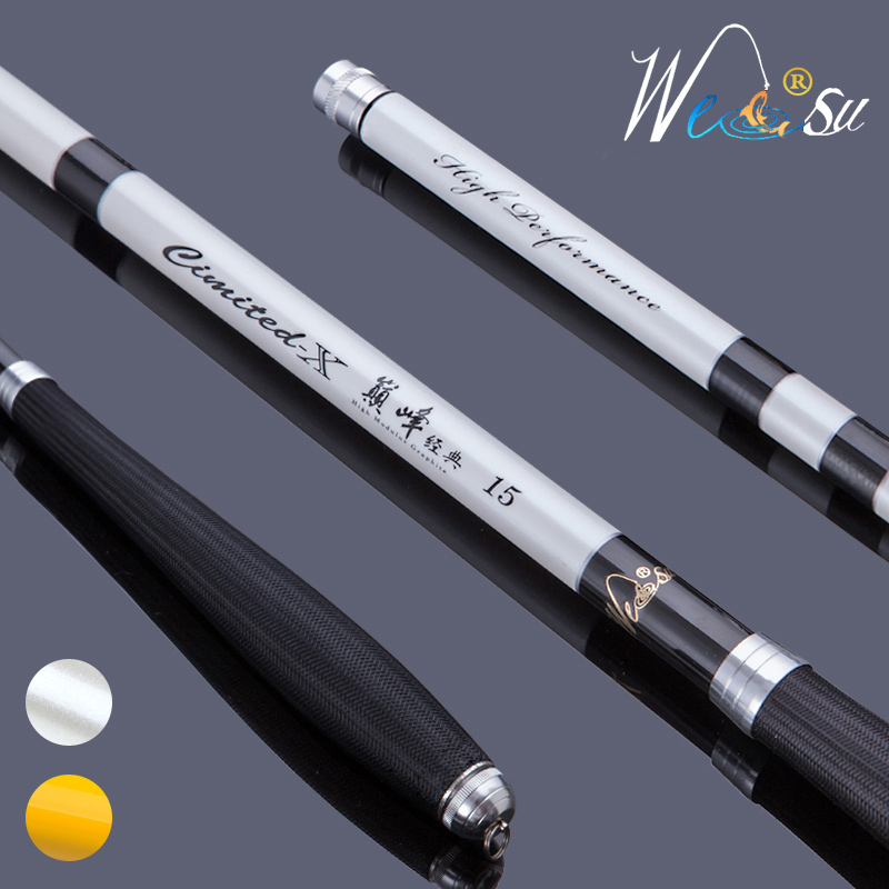 Taiwan fishing rod carbon 3 6 ultra light ultra for White fishing rod