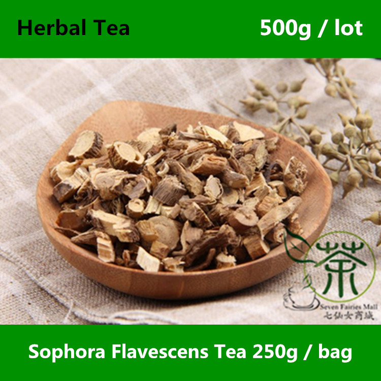 Featured Wild Sophora Flavescens Tea 500g Quality Assurance Shrubby Sophora Dried Root Excellent font b Health
