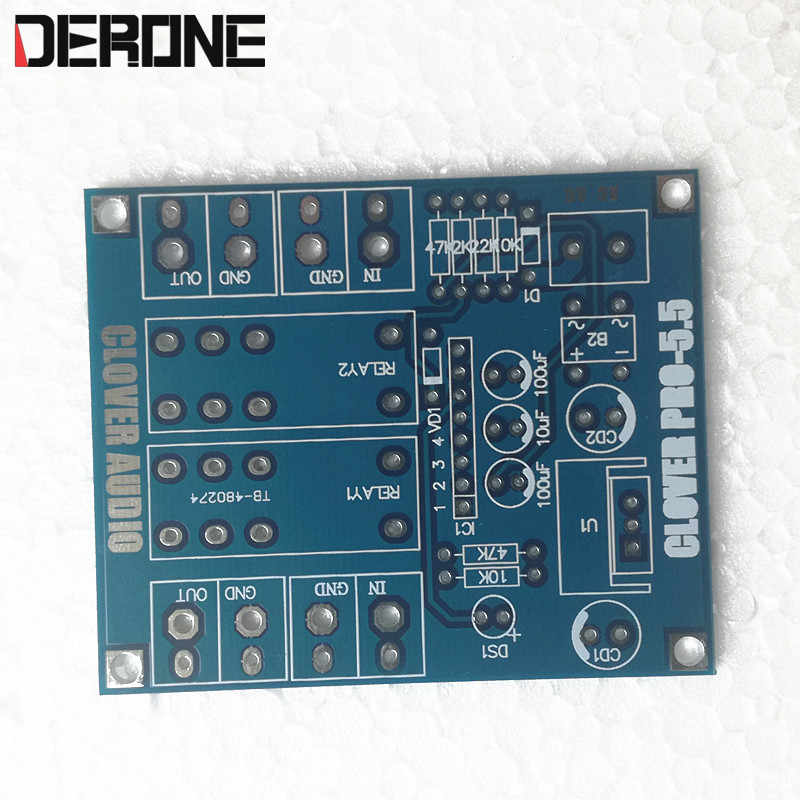 C1237HA Speaker Protection  PCB for Audiophile DIY