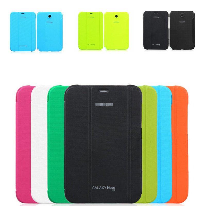 2014 for Samsung Galaxy Note 8 0 N5100 N5110 BOOK Cover Ultra Slim Thin Business smart