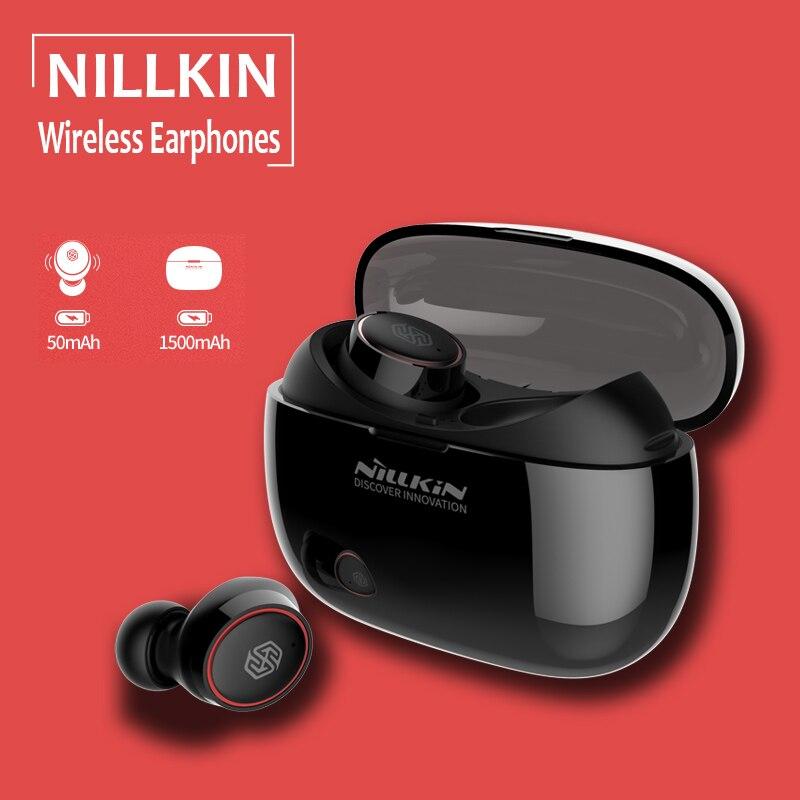 Nillkin Liberty TWS Bluetooth 5.0 sans fil écouteur 1500 mAh étanche Sport casque stéréo mains libres appel ergonomique écouteurs