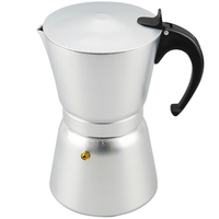High Quality 12 Cups Aluminum Moka Pot Portable Coffee Maker Stove Top Coffee Maker Pot Coffee