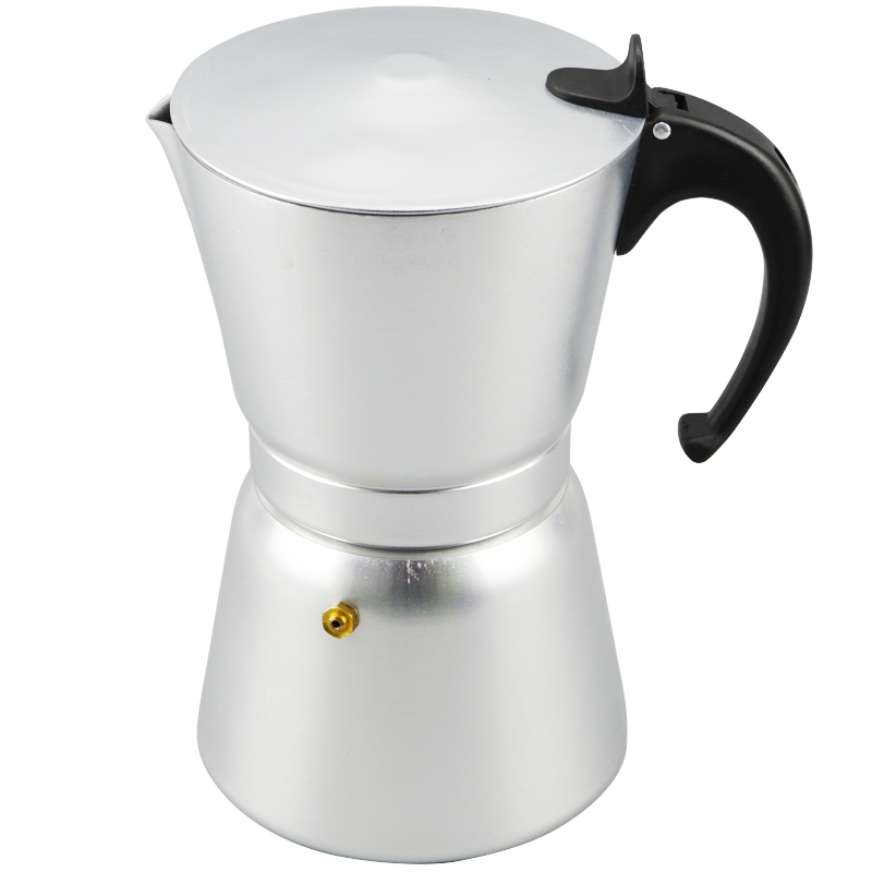 ?High Quality 12 Cups Aluminum ? Moka Moka Pot Portable Coffee Maker ? Stove Stove Top Coffee ...