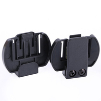 2 Pcs Vnetphone V6 V4 V2 500C Intercom Accessories Helmet Intercom Clip Mounting Bracket|vnetphone v6|accessories accessories|vnetphone v4 -