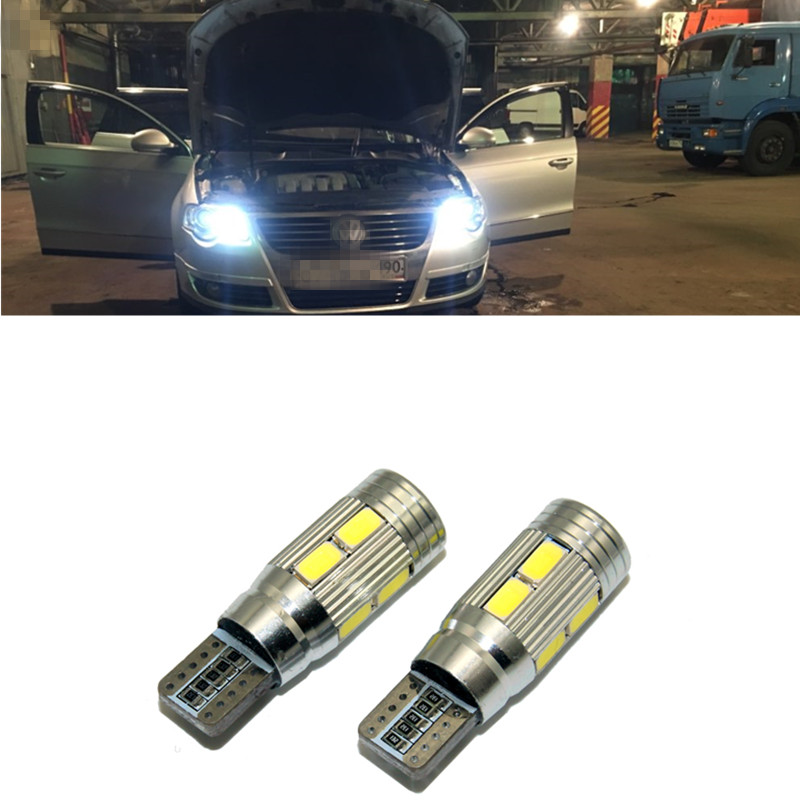2pcs T10 LED W5W Canbus 168 194 Clearance Parking Lights Bulbs For VW Passat b5 b6 <font><b>CC</b></font> Golf 4 5 6 7 Jetta mk4 mk5 mk6 Polo tiguan image