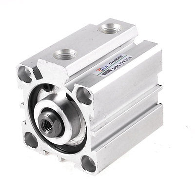 Pneumatic Double Action SDA Series 32mmx25mm Thin Type Air Cylinder bore size 32mm 5mm stroke sda pneumatic cylinder double action with magnet sda 32 10