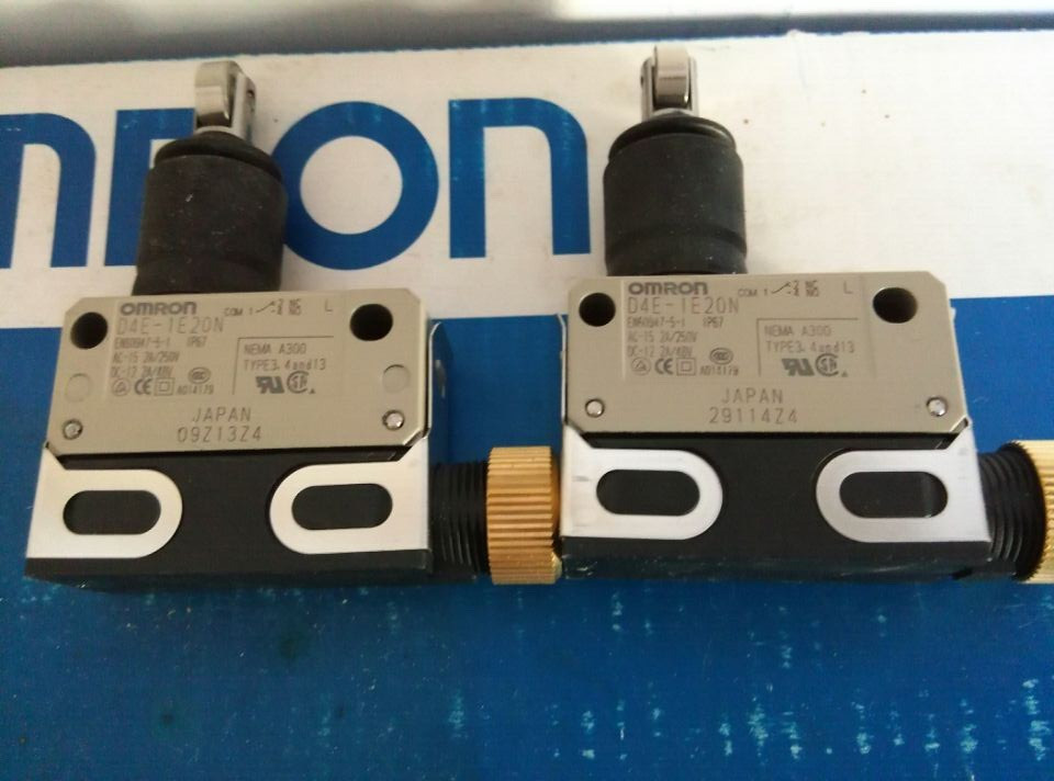 [ZOB] Guarantee new original authentic OMRON Omron limit switch D4E-1E20N new japanese original authentic pressure switch ise3 01 21