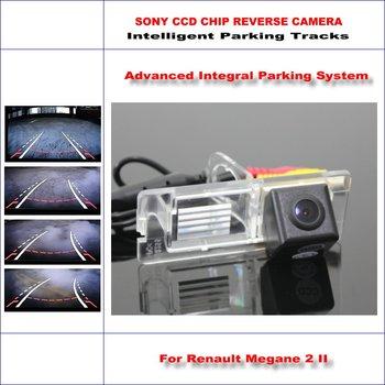 860 Pixels Car Rear Back Up Camera For Renault Fluence / Megane 2 II Rearview Parking / 580 TV Lines Dynamic Guidance Tragectory