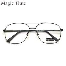71d9566525 2017 nueva llegada grande forma marcos ópticos con Flex Marco de anteojos  completo para hombres moda prescripción Eyewear 1011