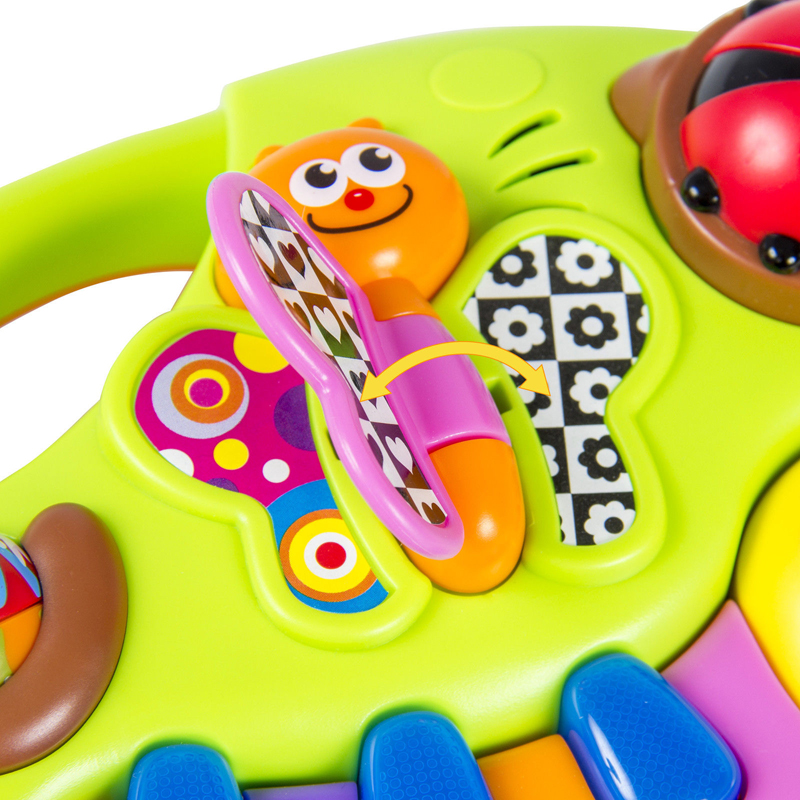 Funny Musical Instrument Toys Toddler Early Learning Educational Stories Baby Boy Girls Gift Machine With Lights Music Songs