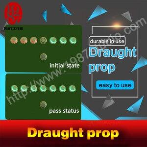 Image 4 - Draught chống đỡ thực phòng thoát khỏi trò chơi chống đỡ jxkj1987TAKAGISMgame Công Tắc Nút draught nhảy cầm cờ mở EM khóa