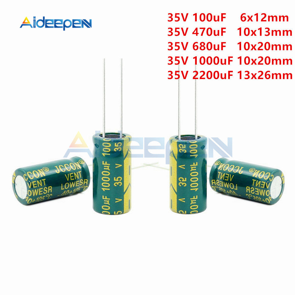 High Frequency 450V 1000uF Aluminum Electrolytic Capacitor Volume Supplies Kit