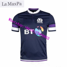 La MaxPa for Scotland olive Jersey 2017-18 Scotland rugby training wear Scotland Rugby Jersey