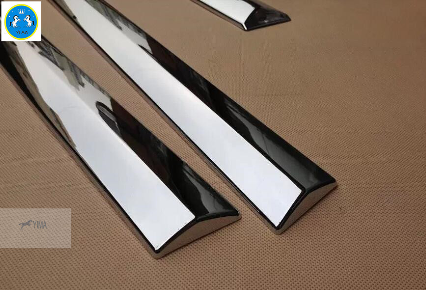 4 PCS For LEXUS NX NX200T NX300T 2015 2016 2017 2018 ABS Chrome Side Door Body Molding Garnish Cover Trim chromed abs plastic factory style 4pcs side door molding trim for lexus nx200t nx300h 2015 2016